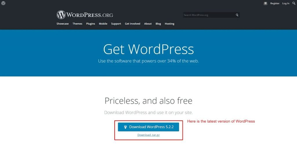 Check latest WordPress Version 2